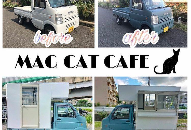 マグキャットカフェ 移動販売車